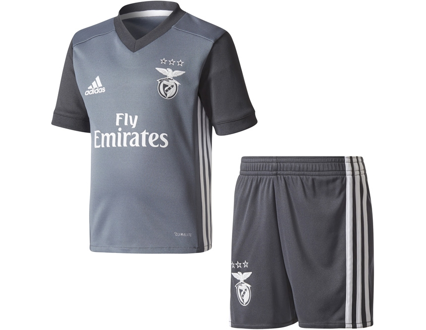 Loja Calções adidas Jr SL Benfica Principal 2017 2018 Branco