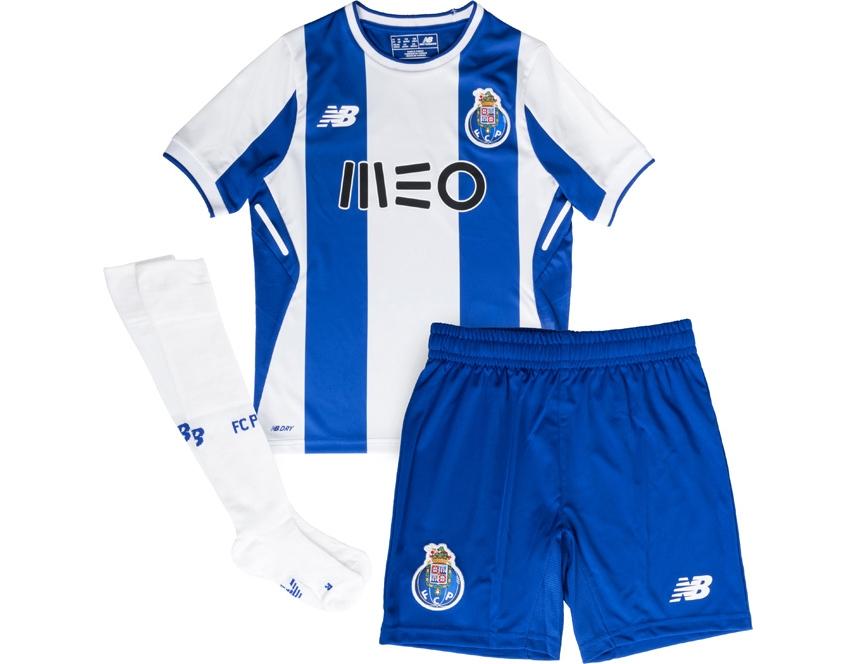 New Balance Mini Kit Oficial F.C.Porto Home 2017 2018 Jr. Please upgrade to  full version of Magic Zoom Plus™ 9e35460636471