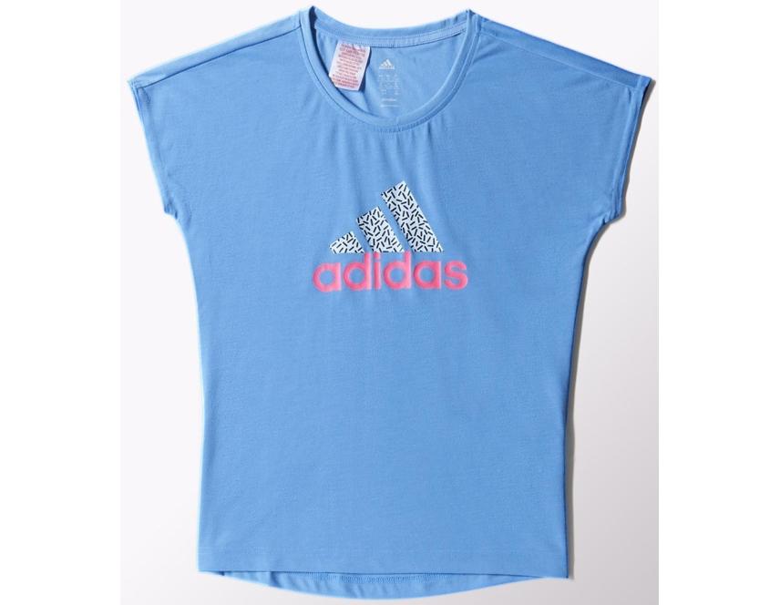 Adidas t shirt wardrobe brand logo planeta d for T shirt brand logo
