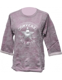 Converse Sweat Wedge Crew Mettalic FT W