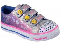 Skechers sapatilha step up expressionista jr