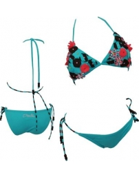 O'Neill Bikini Flowered Triangle