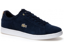Lacoste sapatilha carnaby evo suede