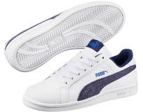 Puma Sapatilha Smash Denim FS Jr