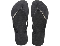 Havaianas Chinelo Slim Metal Logo And Crystal W