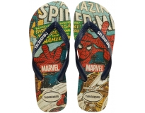 Havaianas Chinelo Top Marvel Spiderman Print
