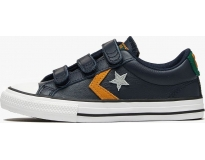 Converse Sapatilha Star Player Leather Twist Easy-On Ox K