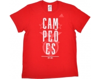 adidas T-shirt Oficial S.L. Benfica Champions 2014/2015
