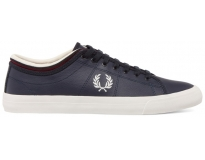 Fred perry sapatilha kendrick tipped cuff leather