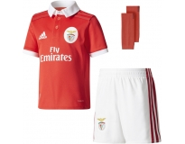 Adidas mini kit oficial s.l.benfica 2017/2018 home kids