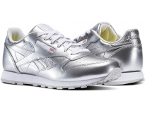 Reebok Sapatilha Classic Leather Metallic Jr
