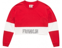 Franklin & marshall sweat cropped heavy terry w