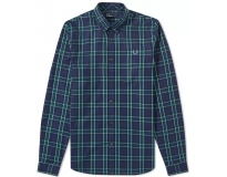 Fred Perry Camisa Enlarged Tartan