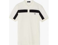 Fred Perry Polo Textured Panel Piqué