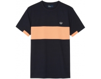 Fred Perry T-shirt Chest Panel