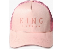 King boné poplar trucker blush