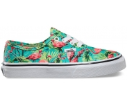 Vans sapatilha authentic flamingo jr