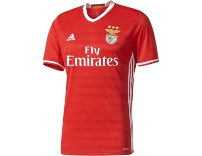 adidas Camisola Oficial S.L.Benfica 2016 2017 Home  ab50d36ea39d0