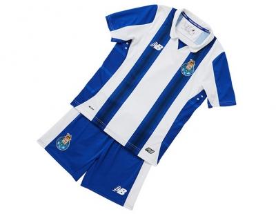 New Balance Mini Kit Oficial F.C.Porto Home 2016 2017 Jr  5adad0a864ded